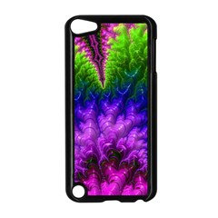 Amazing Special Fractal 25c Apple Ipod Touch 5 Case (black) by Fractalworld