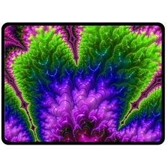 Amazing Special Fractal 25c Double Sided Fleece Blanket (large)  by Fractalworld