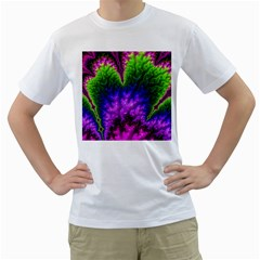 Amazing Special Fractal 25c Men s T Shirt (white)