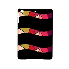 Abstract Waves Ipad Mini 2 Hardshell Cases by Valentinaart