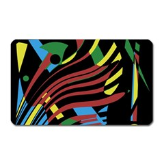 Optimistic Abstraction Magnet (rectangular) by Valentinaart