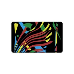 Optimistic Abstraction Magnet (name Card) by Valentinaart