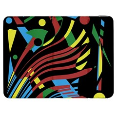 Optimistic Abstraction Samsung Galaxy Tab 7  P1000 Flip Case by Valentinaart