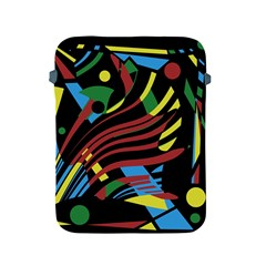Optimistic Abstraction Apple Ipad 2/3/4 Protective Soft Cases by Valentinaart