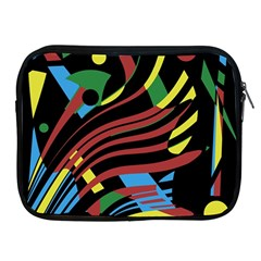 Optimistic Abstraction Apple Ipad 2/3/4 Zipper Cases by Valentinaart
