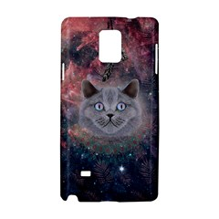 Cat 1 Samsung Galaxy Note 4 Hardshell Case by Wanni