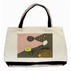Decorative Abstraction Basic Tote Bag (two Sides) by Valentinaart