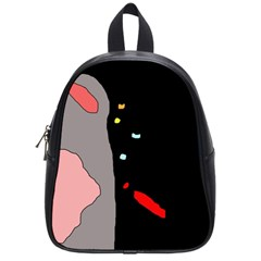 Crazy Abstraction School Bags (small)  by Valentinaart