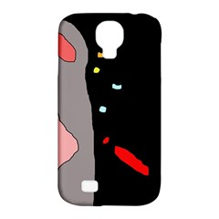 Crazy Abstraction Samsung Galaxy S4 Classic Hardshell Case (pc+silicone) by Valentinaart