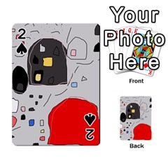 Playful Abstraction Playing Cards 54 Designs