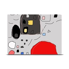 Playful Abstraction Plate Mats by Valentinaart