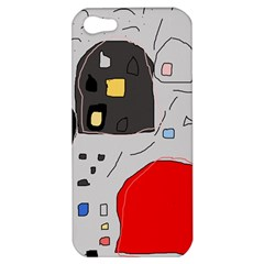 Playful Abstraction Apple Iphone 5 Hardshell Case by Valentinaart