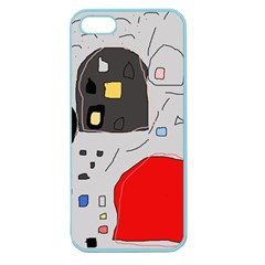 Playful Abstraction Apple Seamless Iphone 5 Case (color) by Valentinaart