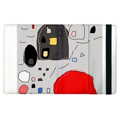 Playful Abstraction Apple Ipad 3/4 Flip Case by Valentinaart