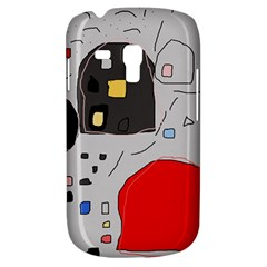 Playful Abstraction Samsung Galaxy S3 Mini I8190 Hardshell Case by Valentinaart