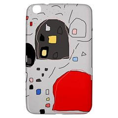 Playful Abstraction Samsung Galaxy Tab 3 (8 ) T3100 Hardshell Case  by Valentinaart