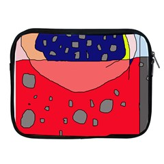Playful Abstraction Apple Ipad 2/3/4 Zipper Cases by Valentinaart
