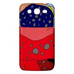 Playful Abstraction Samsung Galaxy Mega 5 8 I9152 Hardshell Case  by Valentinaart