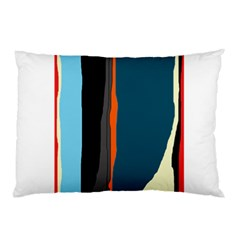 Colorful Lines  Pillow Case by Valentinaart