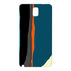 Colorful Lines  Samsung Galaxy Note 3 N9005 Hardshell Back Case by Valentinaart