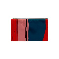 Decorative Lines Cosmetic Bag (small)  by Valentinaart