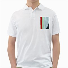 Decorative Lines Golf Shirts by Valentinaart