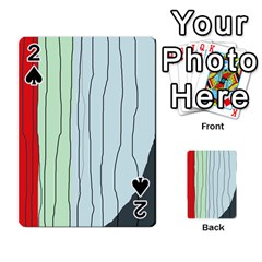 Decorative Lines Playing Cards 54 Designs  by Valentinaart