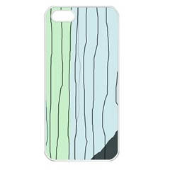 Decorative Lines Apple Iphone 5 Seamless Case (white) by Valentinaart