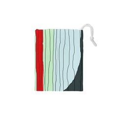 Decorative Lines Drawstring Pouches (xs)  by Valentinaart