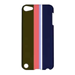 Decorative Lines Apple Ipod Touch 5 Hardshell Case by Valentinaart