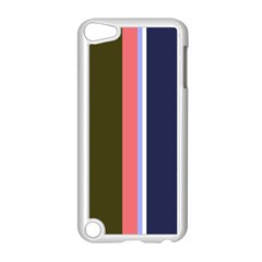 Decorative Lines Apple Ipod Touch 5 Case (white) by Valentinaart