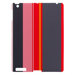 Optimistic Lines Apple Ipad 3/4 Hardshell Case by Valentinaart