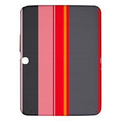 Optimistic Lines Samsung Galaxy Tab 3 (10 1 ) P5200 Hardshell Case  by Valentinaart