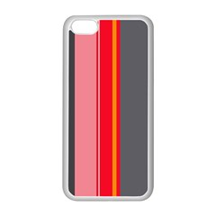 Optimistic Lines Apple Iphone 5c Seamless Case (white) by Valentinaart