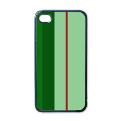 Green And Red Design Apple Iphone 4 Case (black)