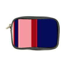 Pink And Blue Lines Coin Purse by Valentinaart
