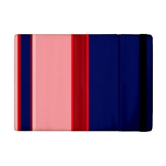 Pink And Blue Lines Ipad Mini 2 Flip Cases by Valentinaart