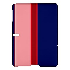 Pink And Blue Lines Samsung Galaxy Tab S (10 5 ) Hardshell Case  by Valentinaart