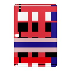 Red Abstraction Samsung Galaxy Tab Pro 10 1 Hardshell Case by Valentinaart