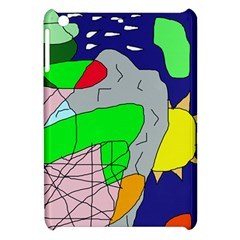Crazy Abstraction Apple Ipad Mini Hardshell Case by Valentinaart