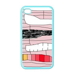 Worms Apple Iphone 4 Case (color) by Valentinaart