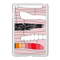 Worms Apple Ipad Mini Case (white) by Valentinaart