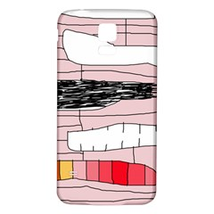 Worms Samsung Galaxy S5 Back Case (white) by Valentinaart
