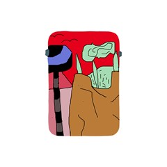 Imaginative Abstraction Apple Ipad Mini Protective Soft Cases by Valentinaart