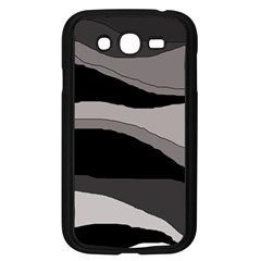 Black And Gray Design Samsung Galaxy Grand Duos I9082 Case (black) by Valentinaart