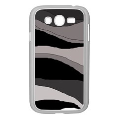 Black And Gray Design Samsung Galaxy Grand Duos I9082 Case (white) by Valentinaart