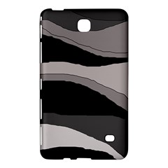 Black And Gray Design Samsung Galaxy Tab 4 (7 ) Hardshell Case  by Valentinaart