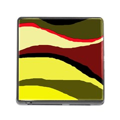 Decorative Abstract Design Memory Card Reader (square) by Valentinaart