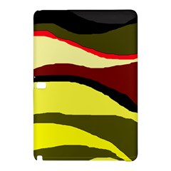 Decorative Abstract Design Samsung Galaxy Tab Pro 12 2 Hardshell Case by Valentinaart