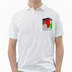 Colorful Abstraction Golf Shirts by Valentinaart